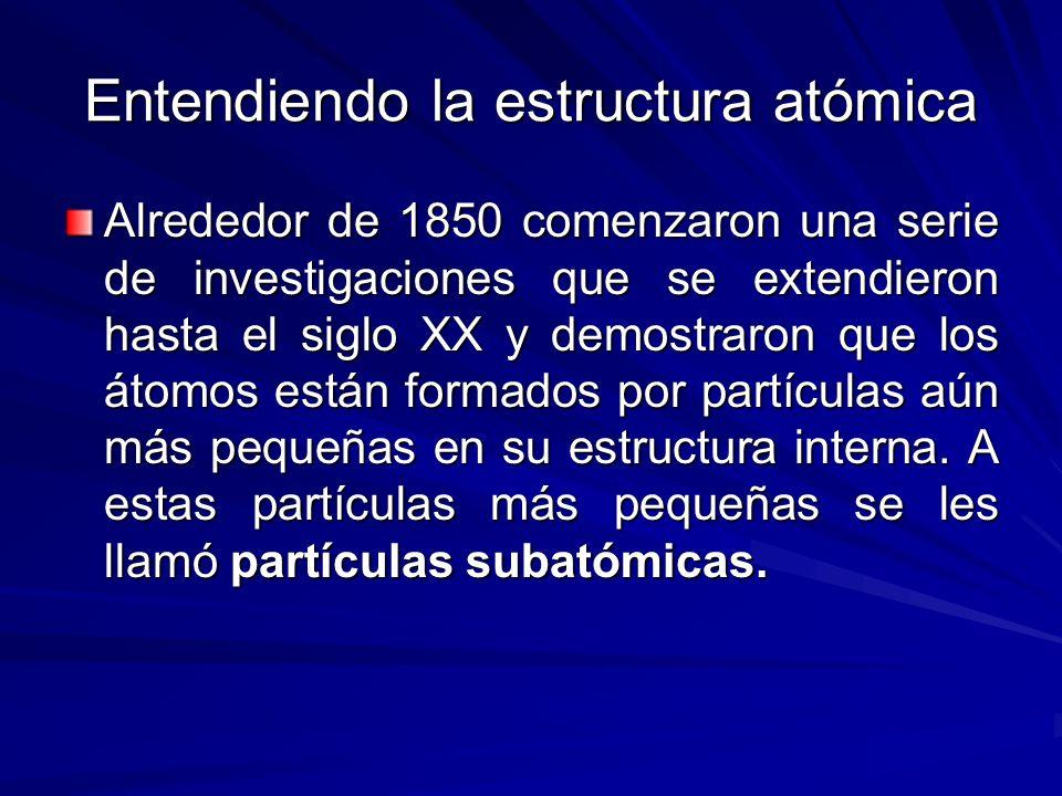 Entendiendo la estructura atómica