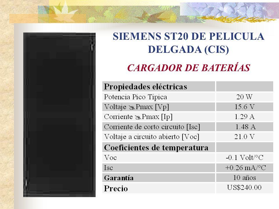 SIEMENS ST20 DE PELICULA DELGADA (CIS)