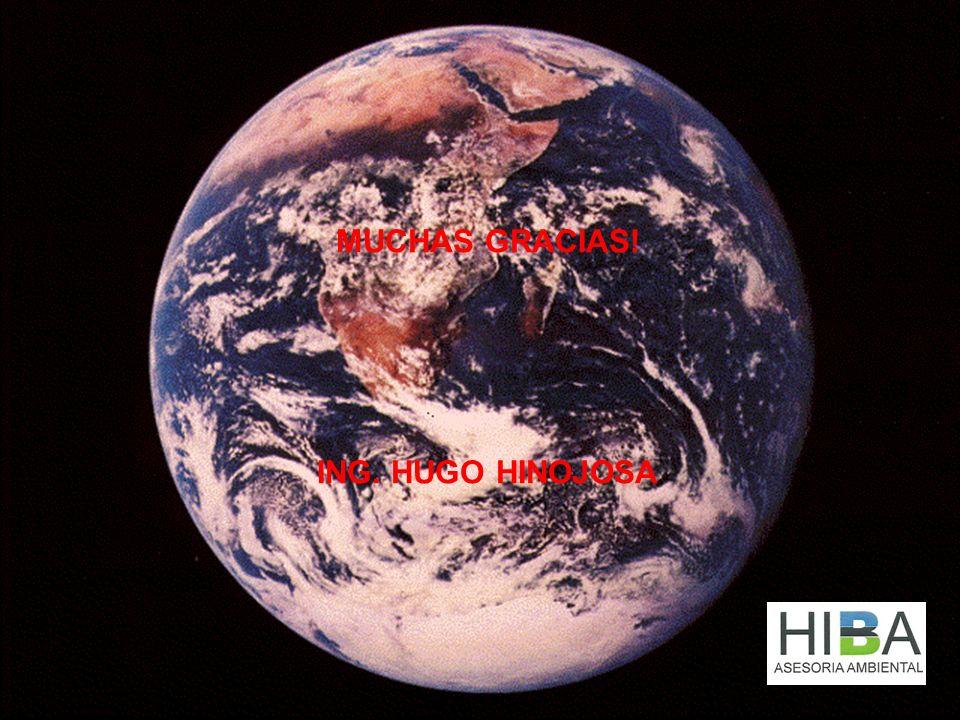 MUCHAS GRACIAS! ING. HUGO HINOJOSA