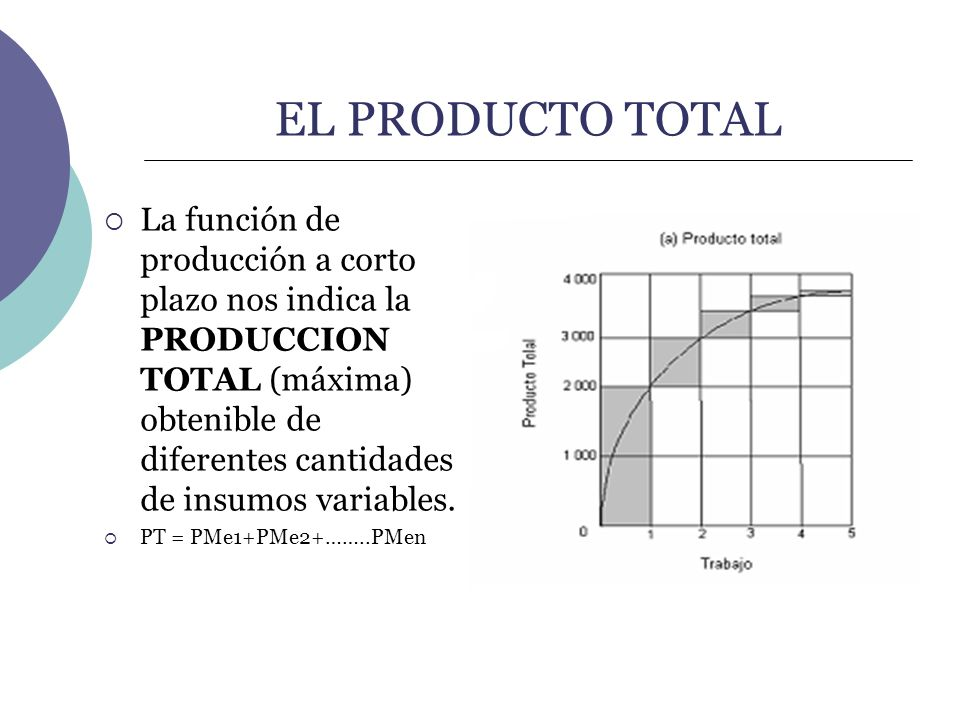 EL PRODUCTO TOTAL