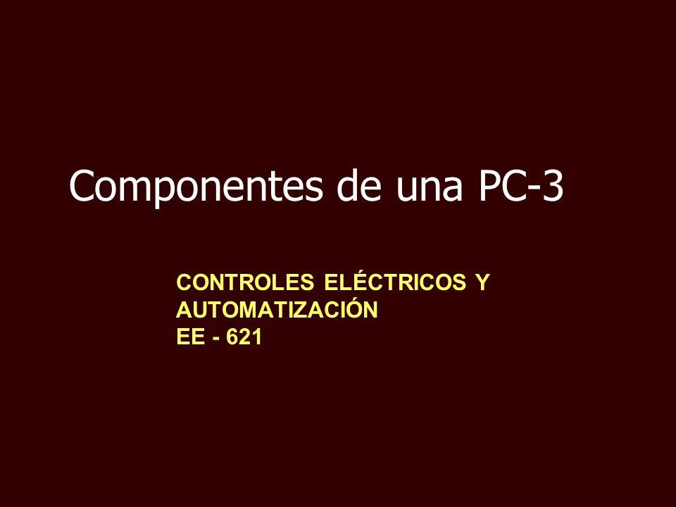 CONTROLES ELÉCTRICOS Y AUTOMATIZACIÓN EE - 621