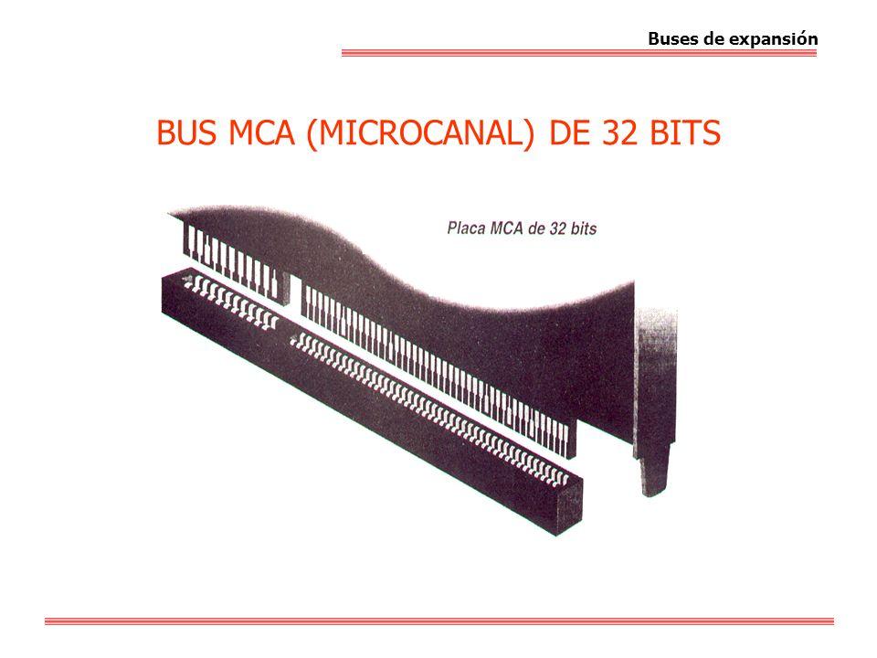 BUS MCA (MICROCANAL) DE 32 BITS