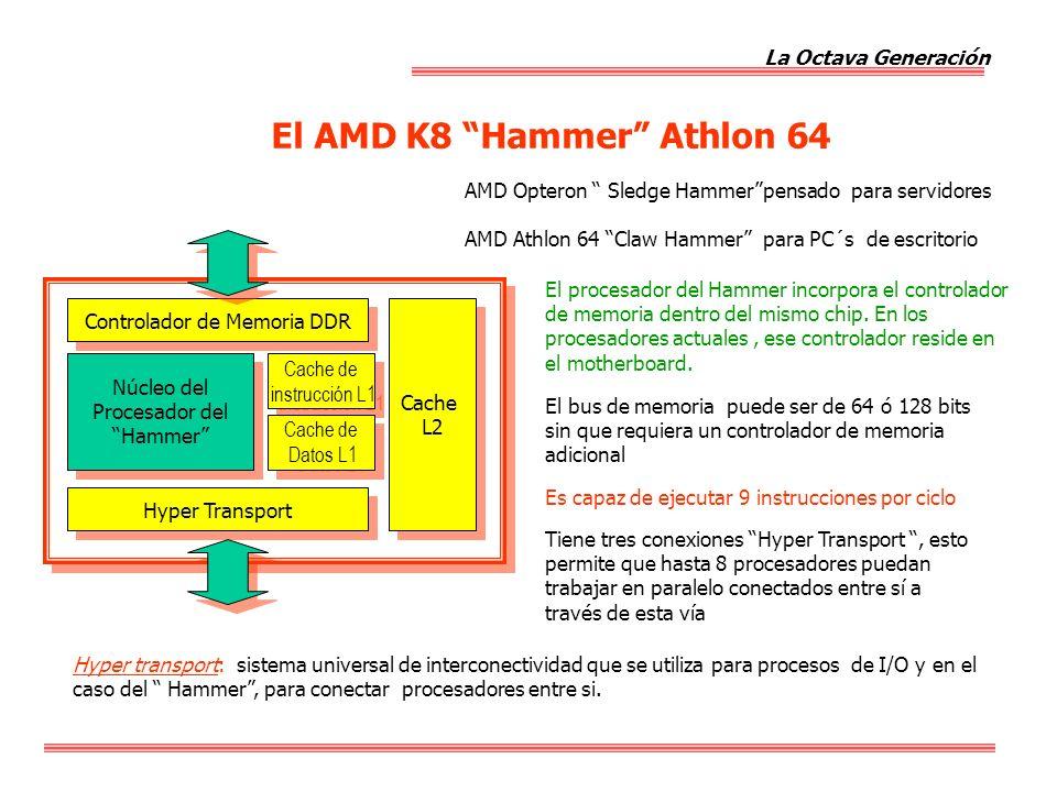 El AMD K8 Hammer Athlon 64