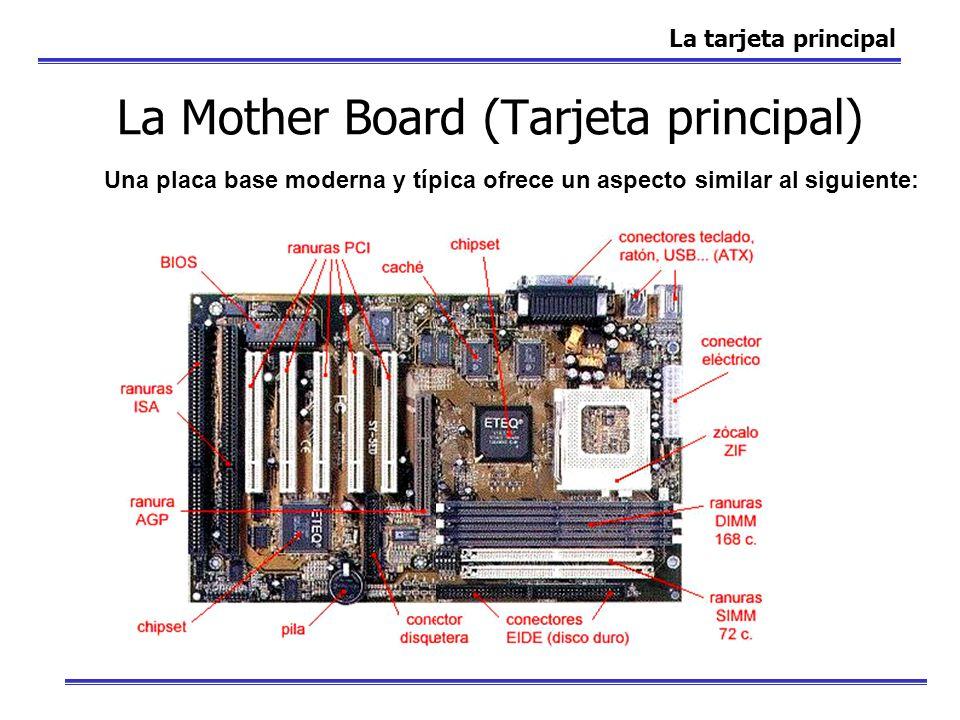 La Mother Board (Tarjeta principal)