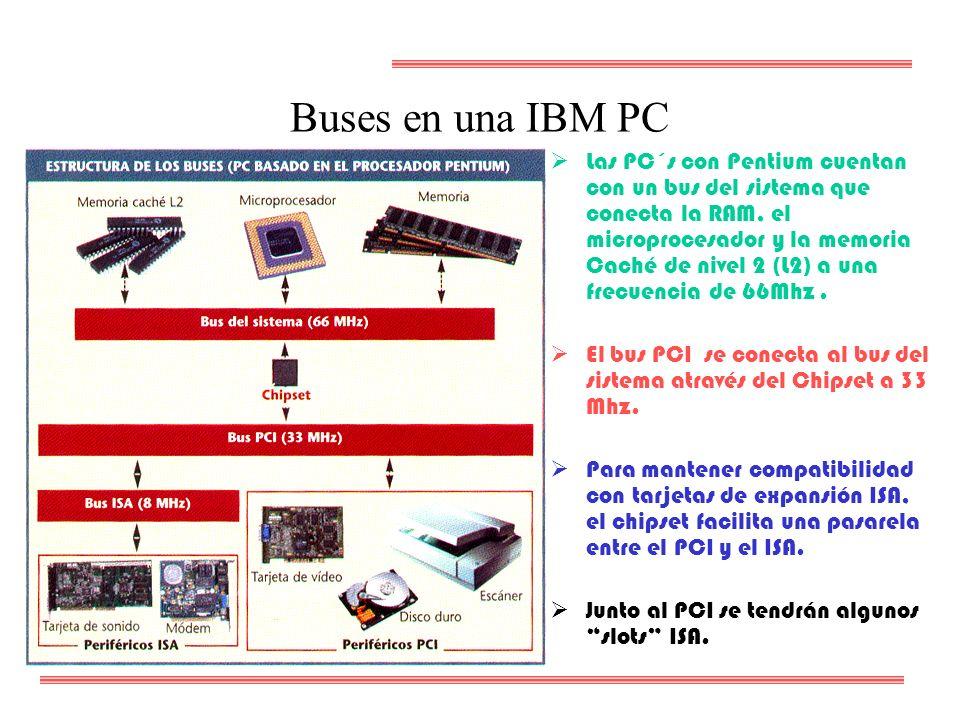 Buses en una IBM PC