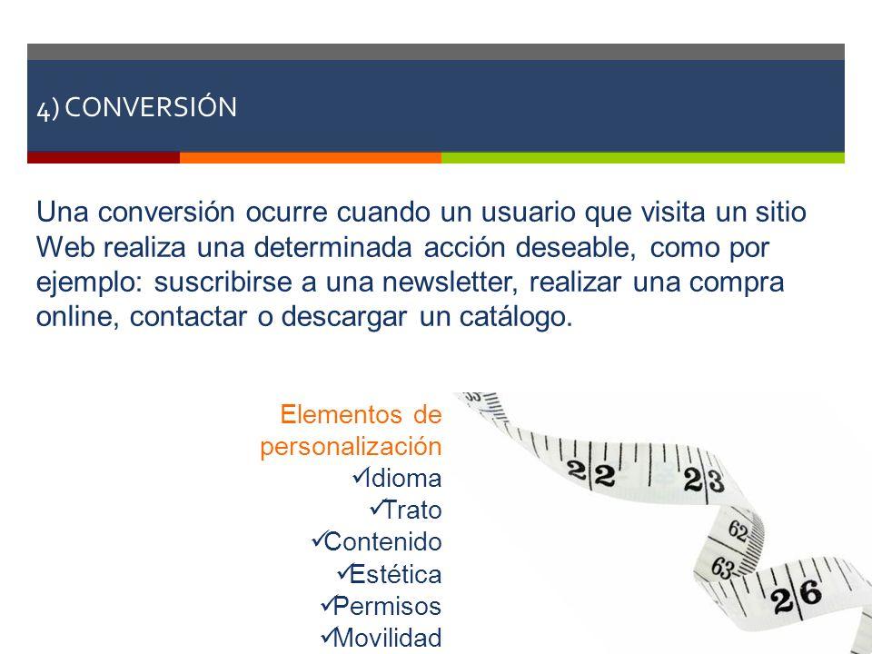 4) CONVERSIÓN