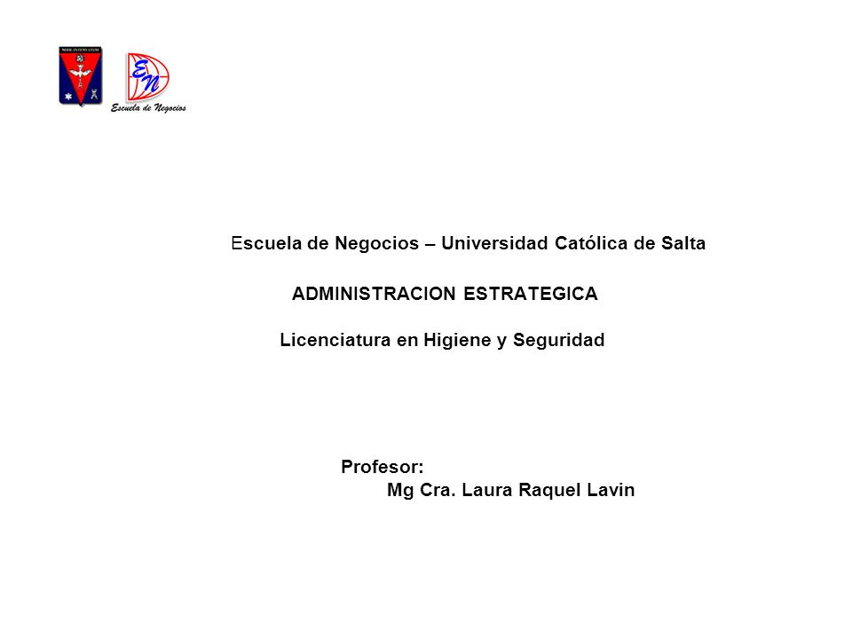 Profesor: Mg Cra. Laura Raquel Lavin