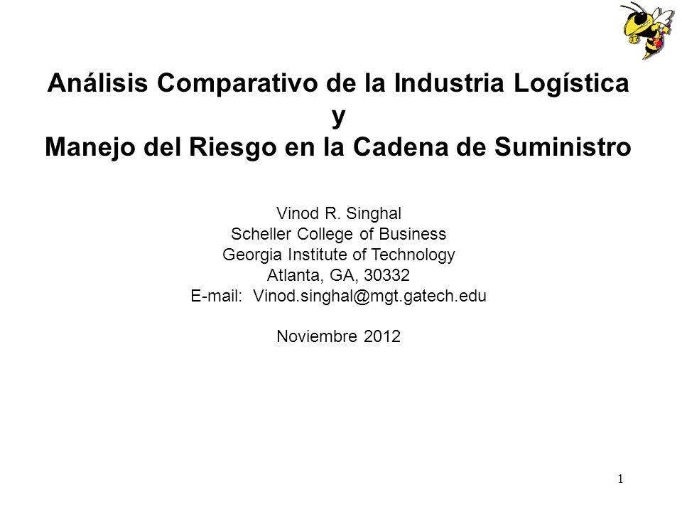 Análisis Comparativo de la Industria Logística y