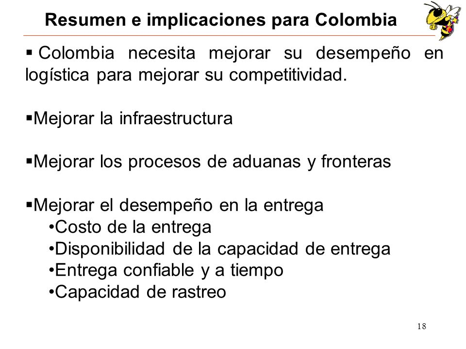 Resumen e implicaciones para Colombia