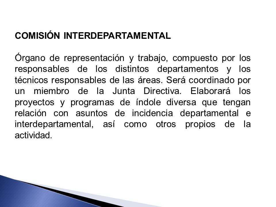 COMISIÓN INTERDEPARTAMENTAL