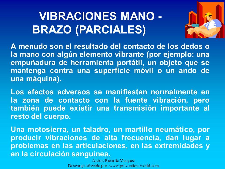 VIBRACIONES MANO - BRAZO (PARCIALES)