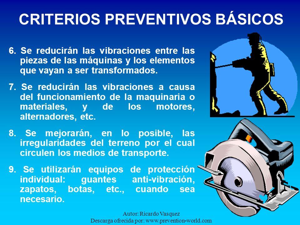 CRITERIOS PREVENTIVOS BÁSICOS