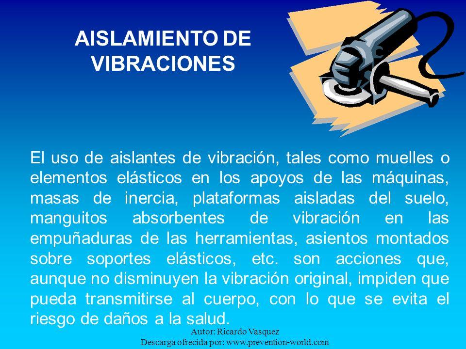 AISLAMIENTO DE VIBRACIONES