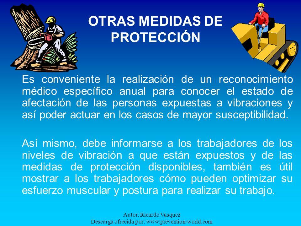 OTRAS MEDIDAS DE PROTECCIÓN