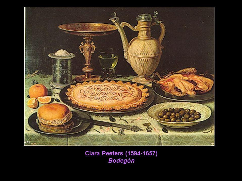 Clara Peeters (1594-1657) Bodegón