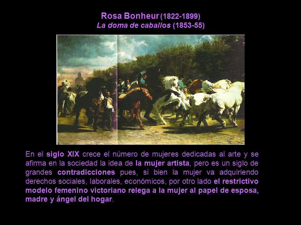 Rosa Bonheur (1822-1899) La doma de caballos (1853-55)