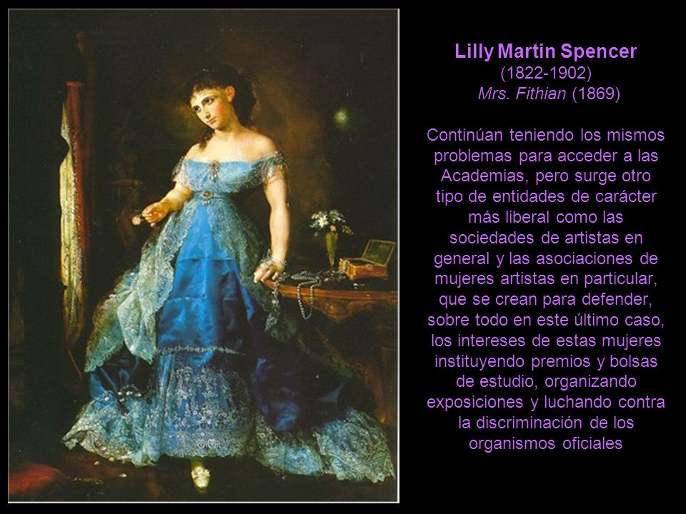 Lilly Martin Spencer ( ) Mrs