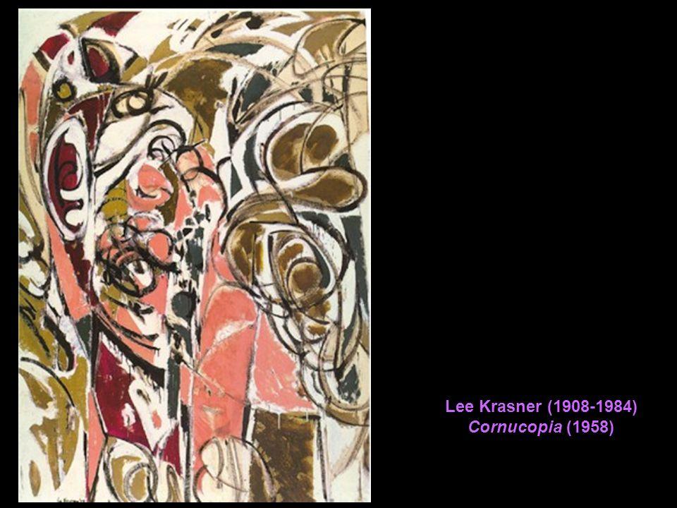 Lee Krasner (1908-1984) Cornucopia (1958)