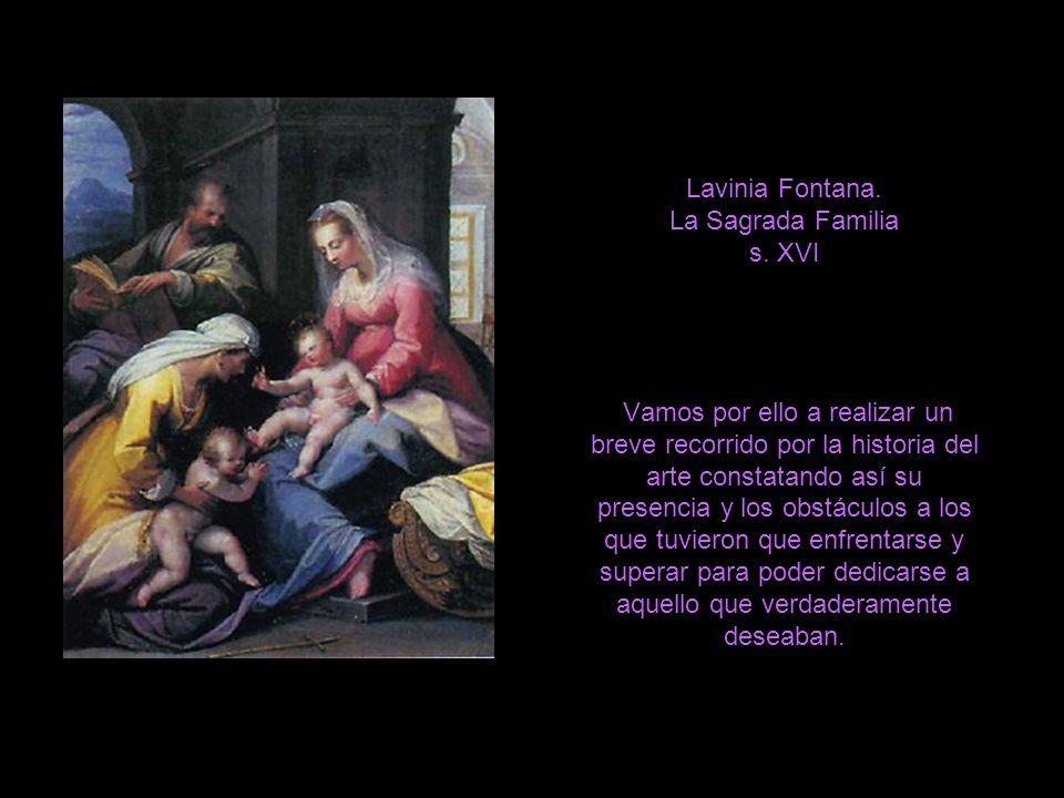 Lavinia Fontana. La Sagrada Familia s