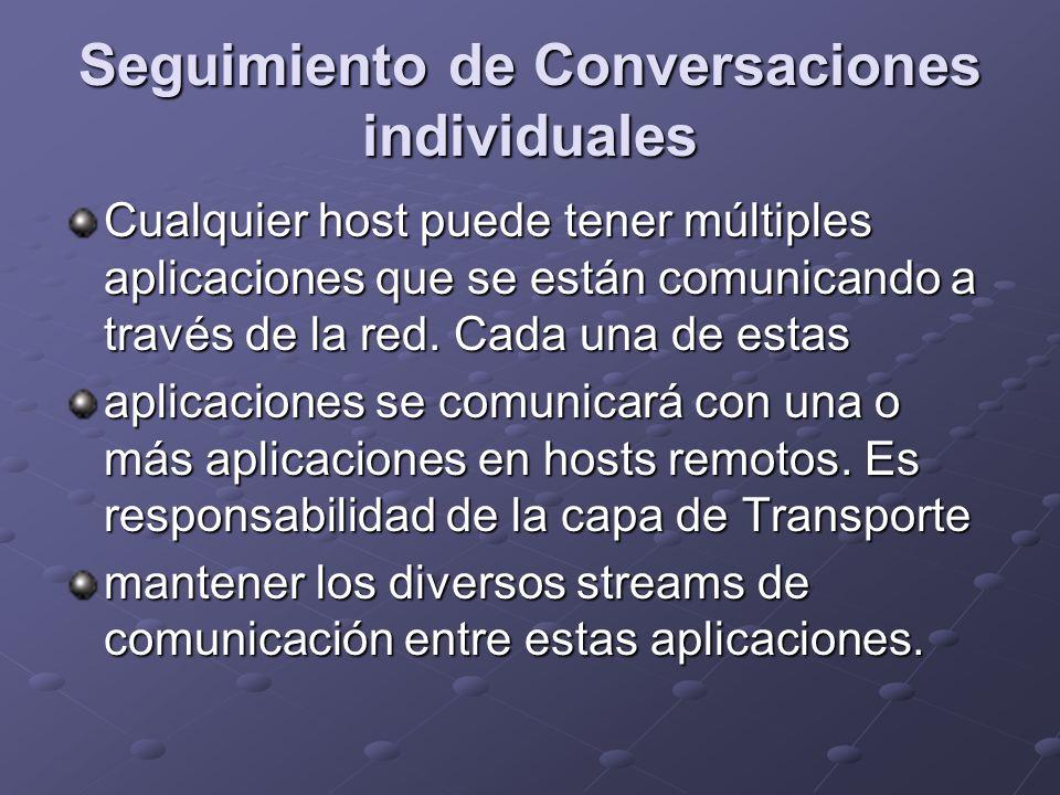 Seguimiento de Conversaciones individuales