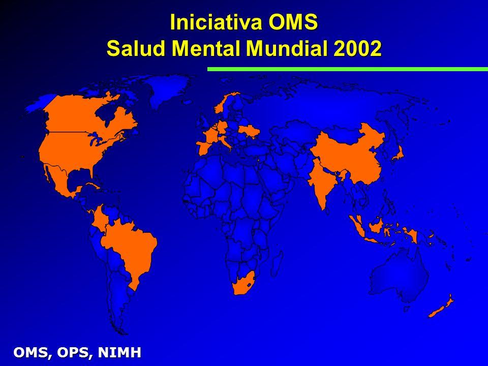 Iniciativa OMS Salud Mental Mundial 2002