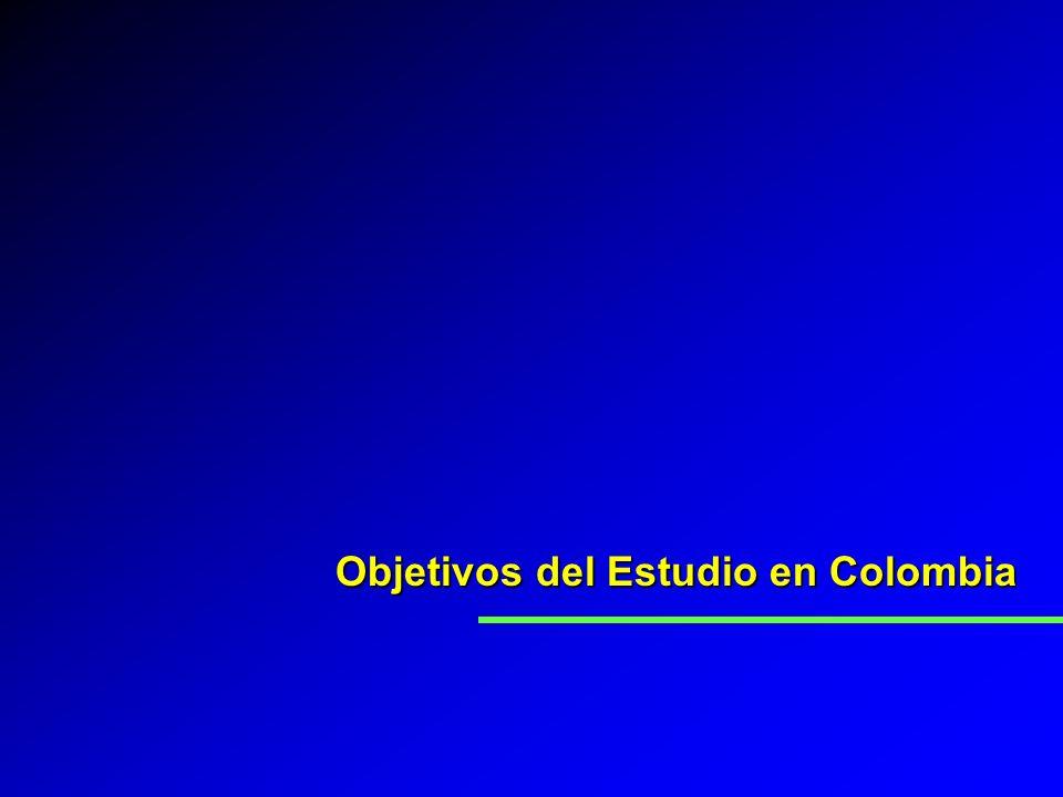 Objetivos del Estudio en Colombia