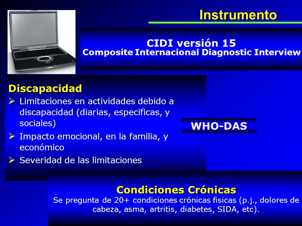 Composite Internacional Diagnostic Interview