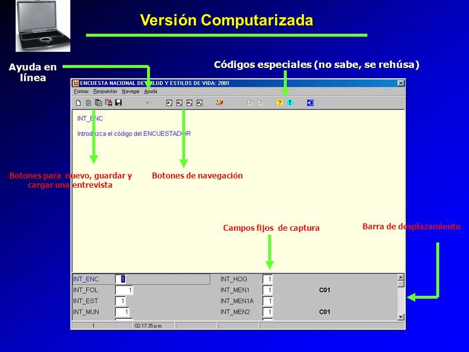 Versión Computarizada