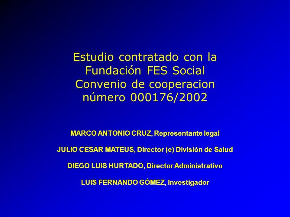 Estudio contratado con la Fundación FES Social Convenio de cooperacion