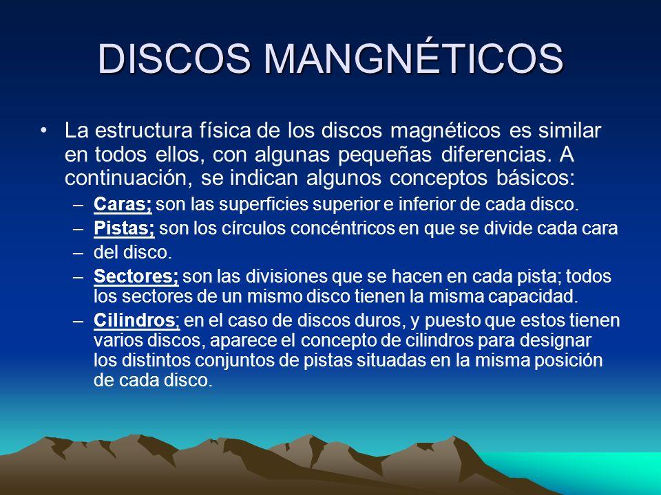 DISCOS MANGNÉTICOS