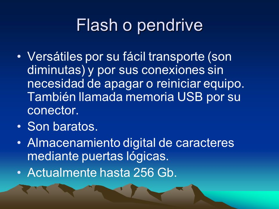 Flash o pendrive