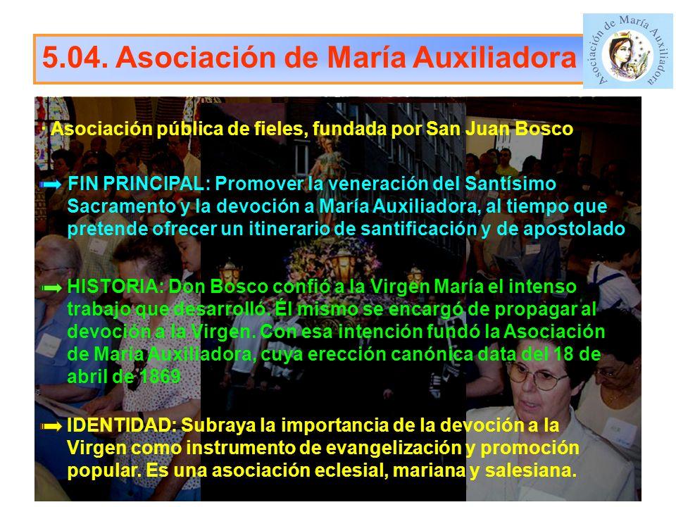 5.04. Asociación de María Auxiliadora