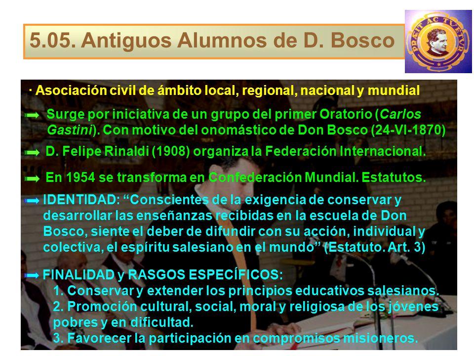 5.05. Antiguos Alumnos de D. Bosco