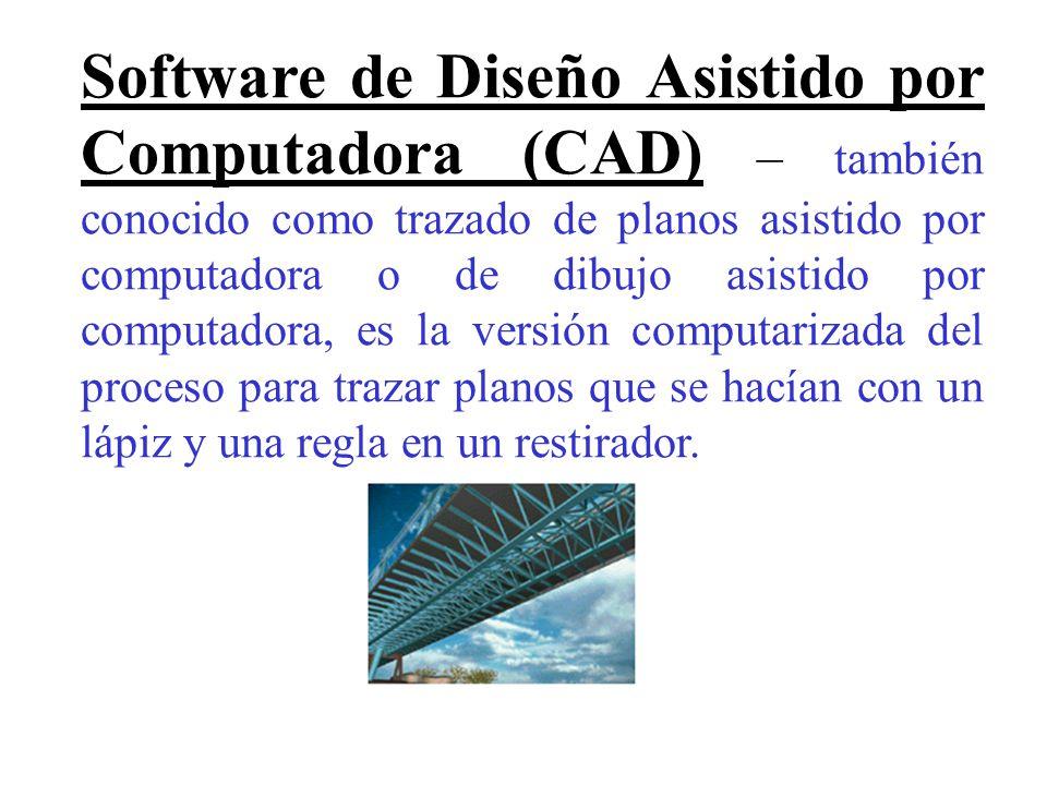 Gr ficos y dise os por computadora ppt descargar for Programas de diseno de planos
