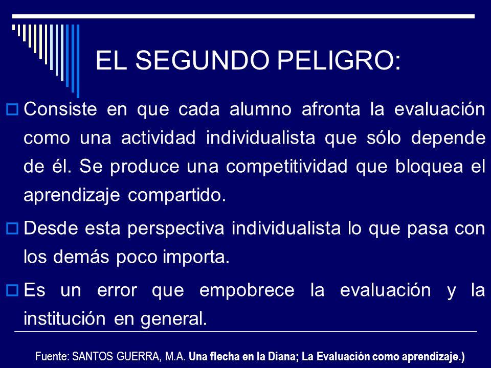 EL SEGUNDO PELIGRO: