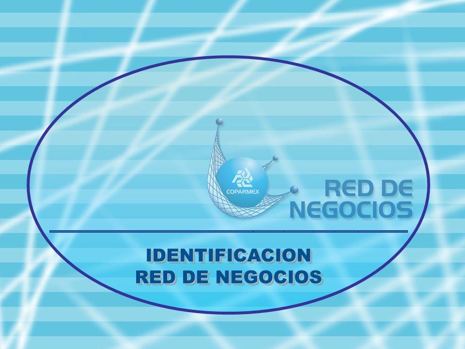 IDENTIFICACION RED DE NEGOCIOS