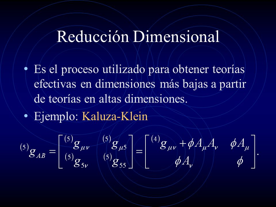 Resultado de imagen de La Teoría de Kaluza - Klein de 5 dimensiones