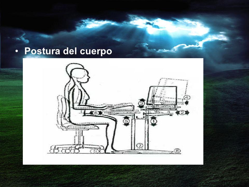 Postura del cuerpo