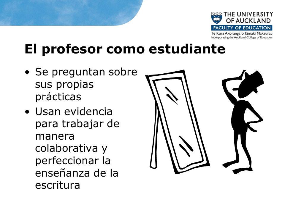 El profesor como estudiante