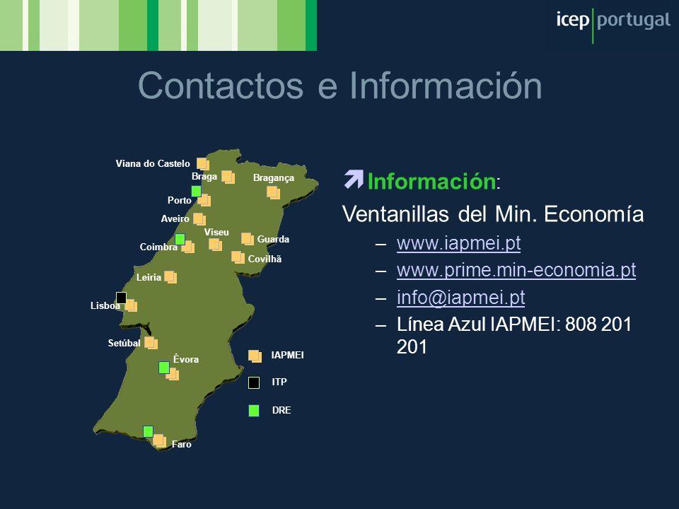 Contactos e Información
