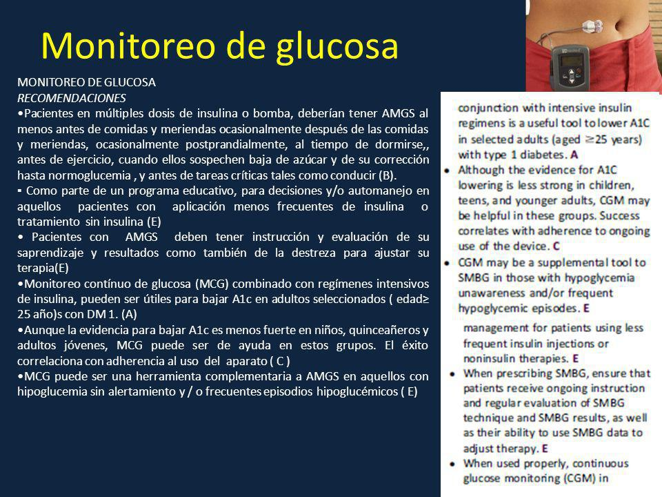 Dx y metas de control en Diabetes Mellitus ADA ppt descargar