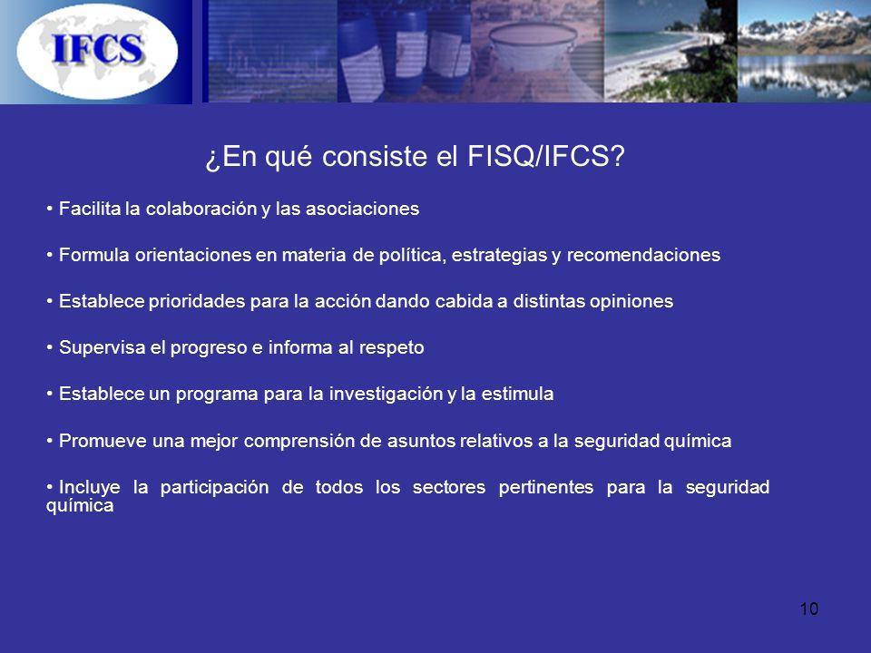 ¿En qué consiste el FISQ/IFCS