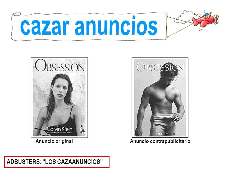 cazar anuncios ADBUSTERS: LOS CAZAANUNCIOS Anuncio original