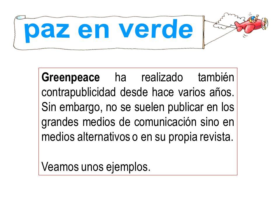paz en verde