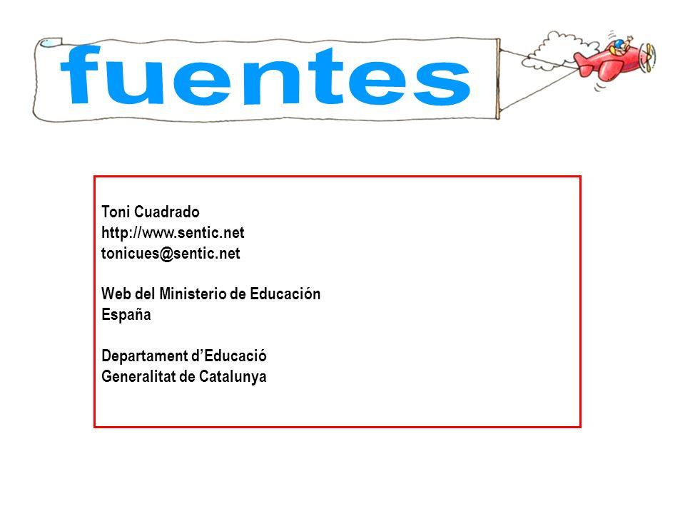fuentes Toni Cuadrado http://www.sentic.net tonicues@sentic.net