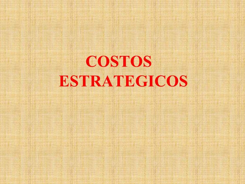 COSTOS ESTRATEGICOS