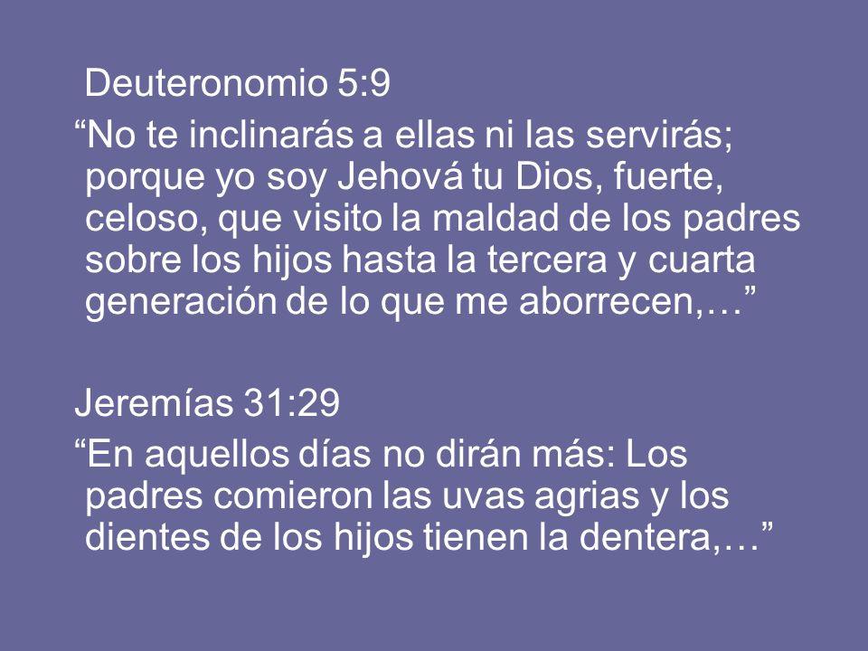 Deuteronomio 5:9