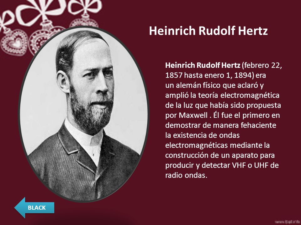 Resultado de imagen para rudolf hertz biografia corta
