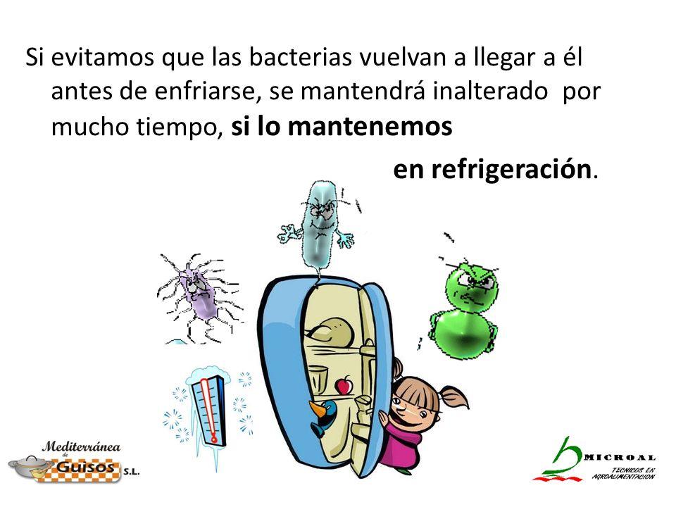 Si evitamos que las bacterias vuelvan a llegar a él antes de enfriarse, se mantendrá inalterado por mucho tiempo, si lo mantenemos