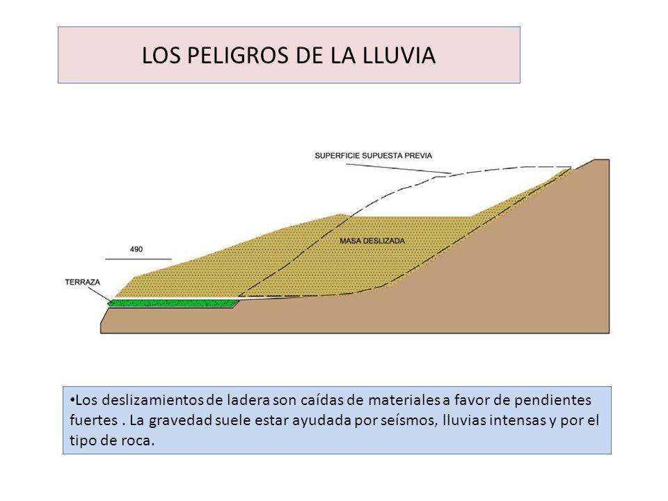 LOS PELIGROS DE LA LLUVIA